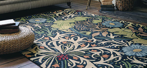 William Morris Rugs Reproductions Home Decor