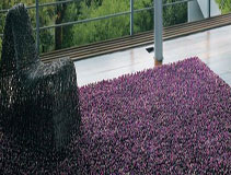 Purple & Plum Rugs Rug