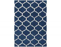 albany ogee blue rug