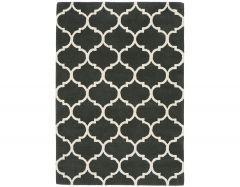 albany ogee charcoal rug