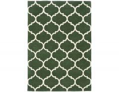 albany ogee green rug