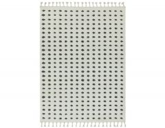 ariana ar05 dotty grey rug