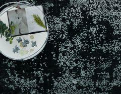 althera at07 black persian rug