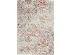 Damask DAS06 multicoloured rug