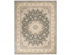 living treasures li15 grey ivory rug