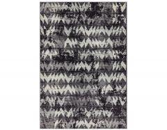 nova nv28 chevron black rug