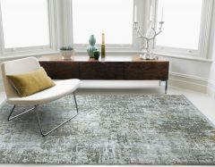 olympia OL06 grey gold abstract rug
