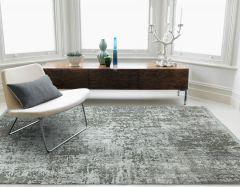 olympia OL07 silver grey abstract rug