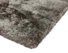 plush zinc rug