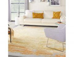 prismatic prs19 grey gold rug