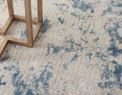 rustic textures rus16 grey blue rug
