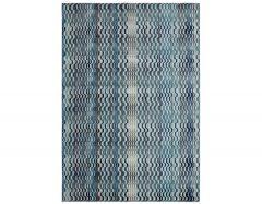 skye sk03 wave blue rug