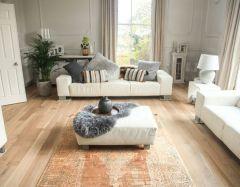 toros overdyed copper rug