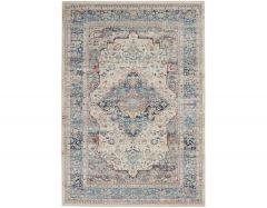Vintage Kashan VKA07 Ivory Blue