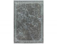 zeharaya ze04 silver border rug