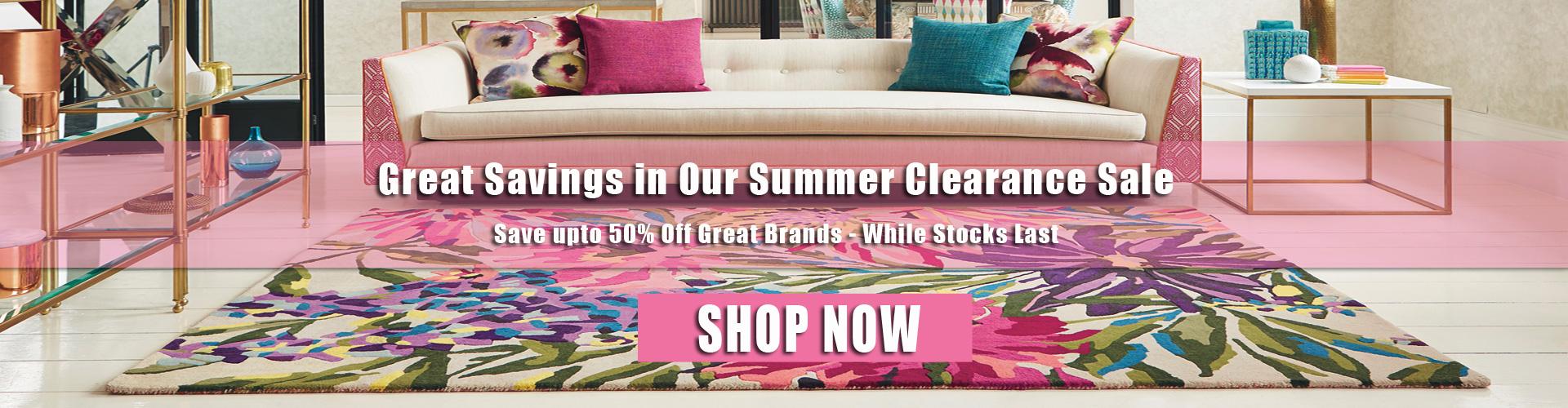 clearance rug sale