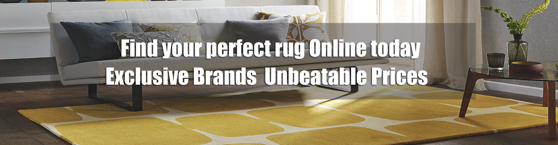 spring rug banner